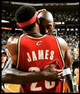 LeBron e Garnett