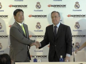 Hankook Tire e Real madrid (2)