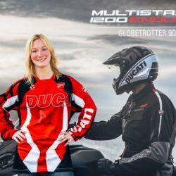 Jessica Leyne 2 Ducati Globetrotter 90°