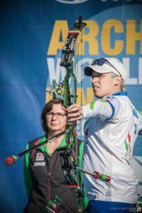 Marcella Tonioli al tiro a Odense
