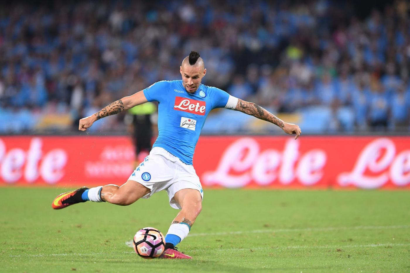 Napoli, Hamsik fissa gli obiettivi: