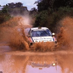 Rallye Cote d' Ivoire Abidjan (CI) 29-02 11 1989