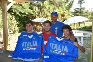 Maglia Azzurra Quadcross 2016