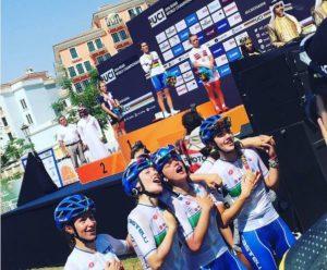 italia juniores ciclismo mondiali doha