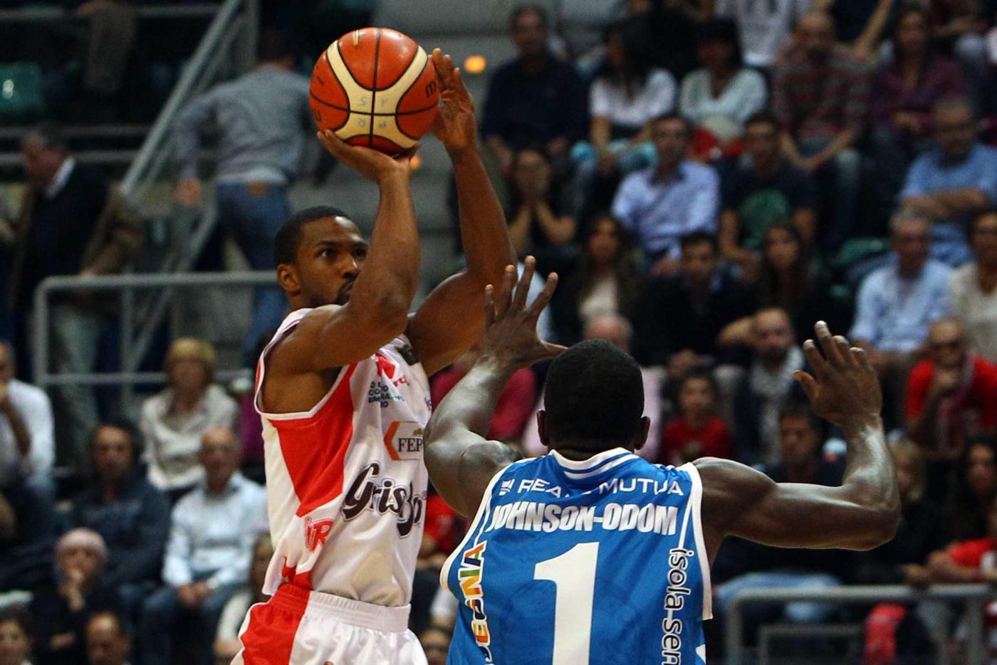 Basket, Serie A1: Reggio Emilia supera Sassari 86-80 al PalaDozza