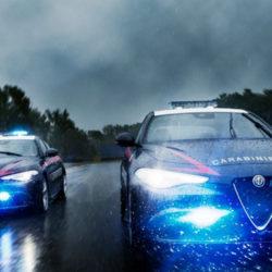 Alfa Romeo Giulia Carabinieri foto in pista (1)