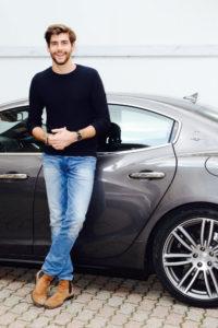 Alvaro Soler con Maserati Ghibli SQ4 (2)