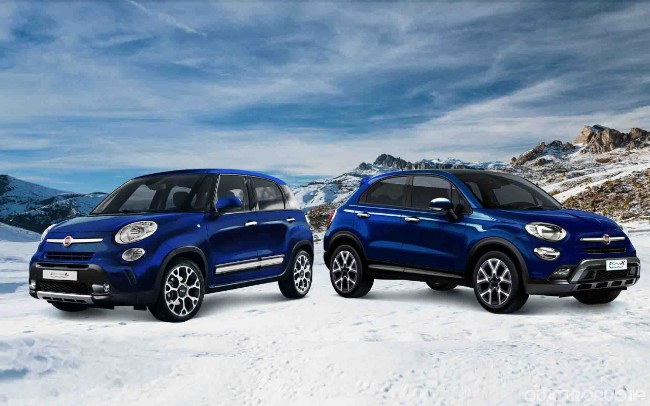 Fiat 500L e 500X, arriva la Winter Edition
