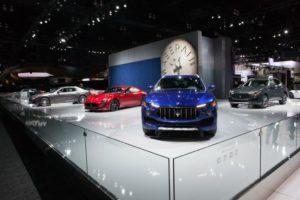 Maserati al Salone dell'Auto di Los Angeles_Levante stand_2016