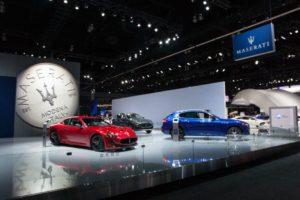 Maserati al Salone dell'Auto di Los Angeles_stand_2016