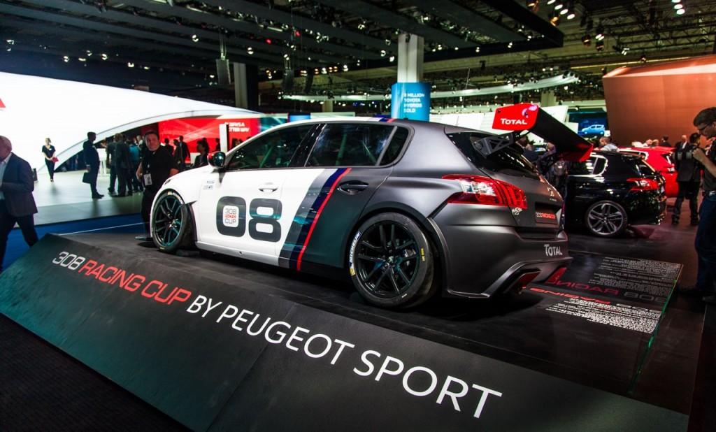 peugeot 308 racing cup in vendita la nuova auto da corsa del leone foto. Black Bedroom Furniture Sets. Home Design Ideas