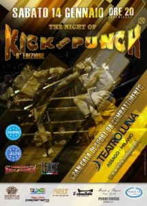 Poster The Night of Kick and Punch 6