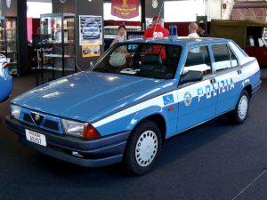alfa 75 polizia