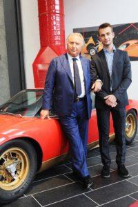 comm. T. Lamborghini e figlio Ferruccio