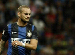 """L'umiltà di Wesley Sneijder: """"sarei potuto essere al livello"""