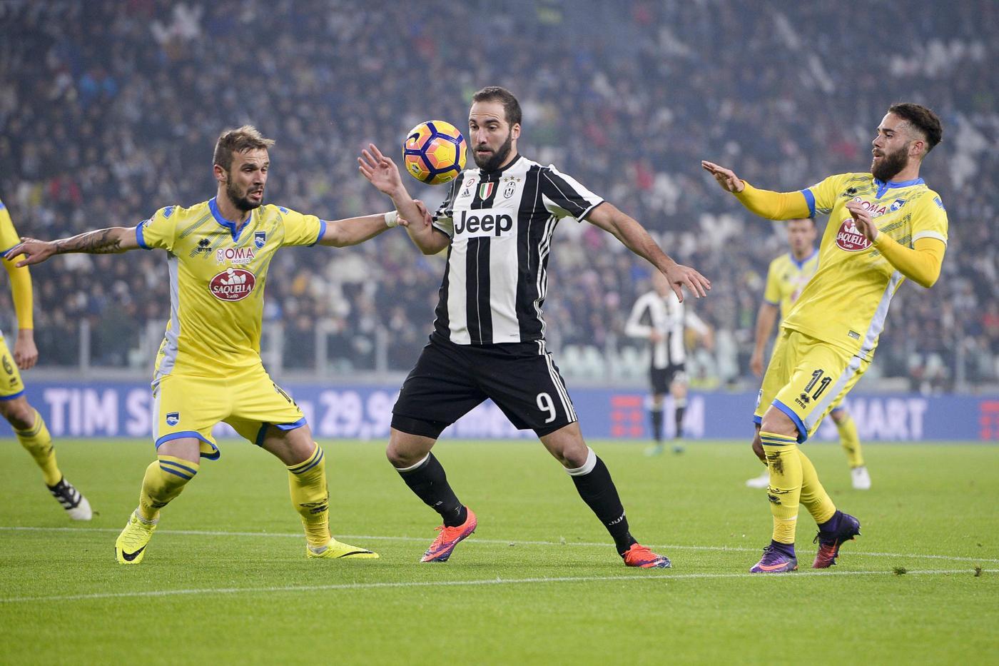 Allegri contento, c'è una Juventus sola