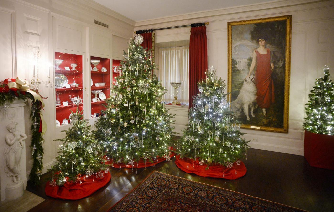 """La Casa Bianca sembra quella di Babbo Natale: """"the white ..."""