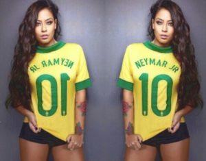 sorella neymar