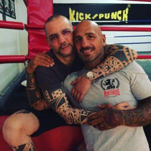 foto-Giacobbe Fragomeni con Angelo Valente