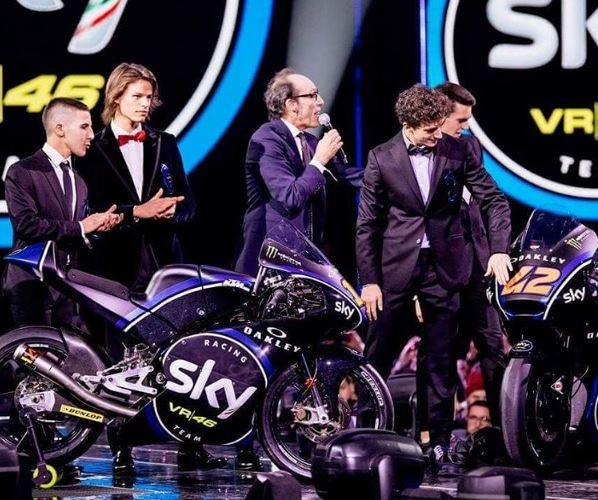 Svelate a X Factor le livree 2017 dello Sky Racing Team VR46