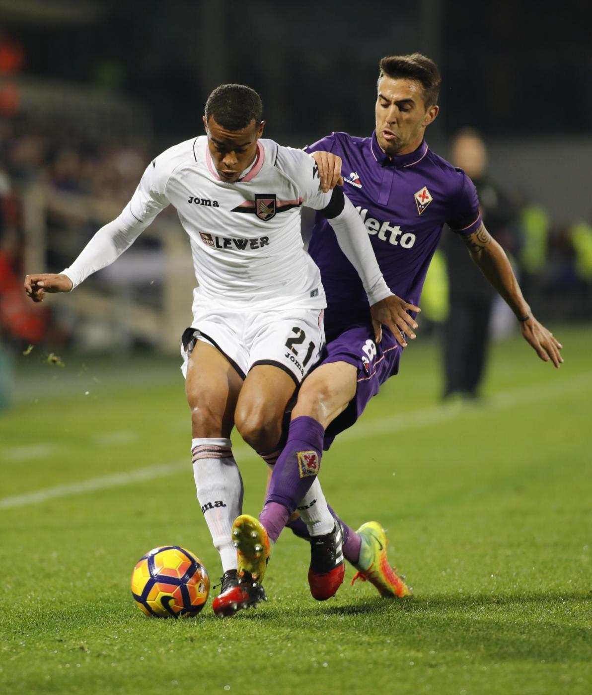 Gol Fiorentina-Palermo 2-1 Video Highlights e Sintesi (Serie A 2016-17)