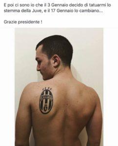 tattoo juventus
