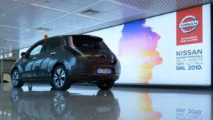Nissan Leaf a Fiumicino (4)