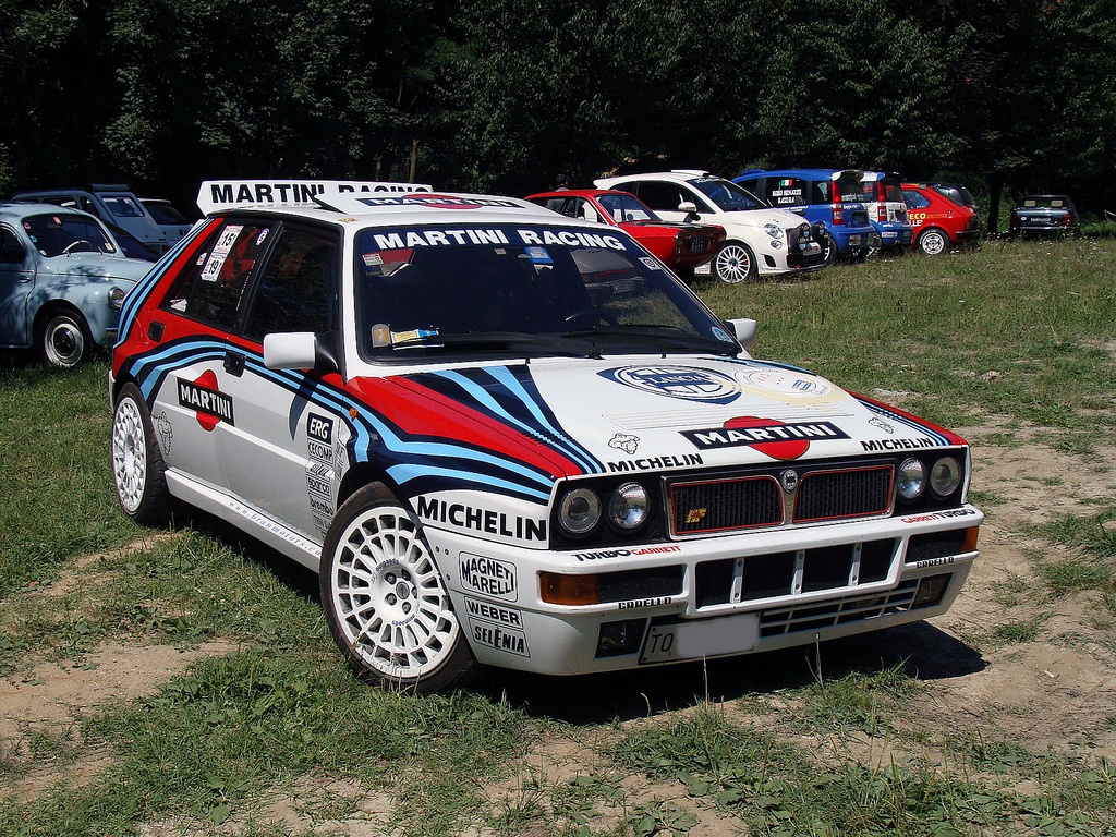 lancia delta integrale martini 6. Black Bedroom Furniture Sets. Home Design Ideas