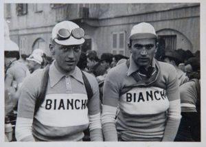 Vito Ortelli e Bartali