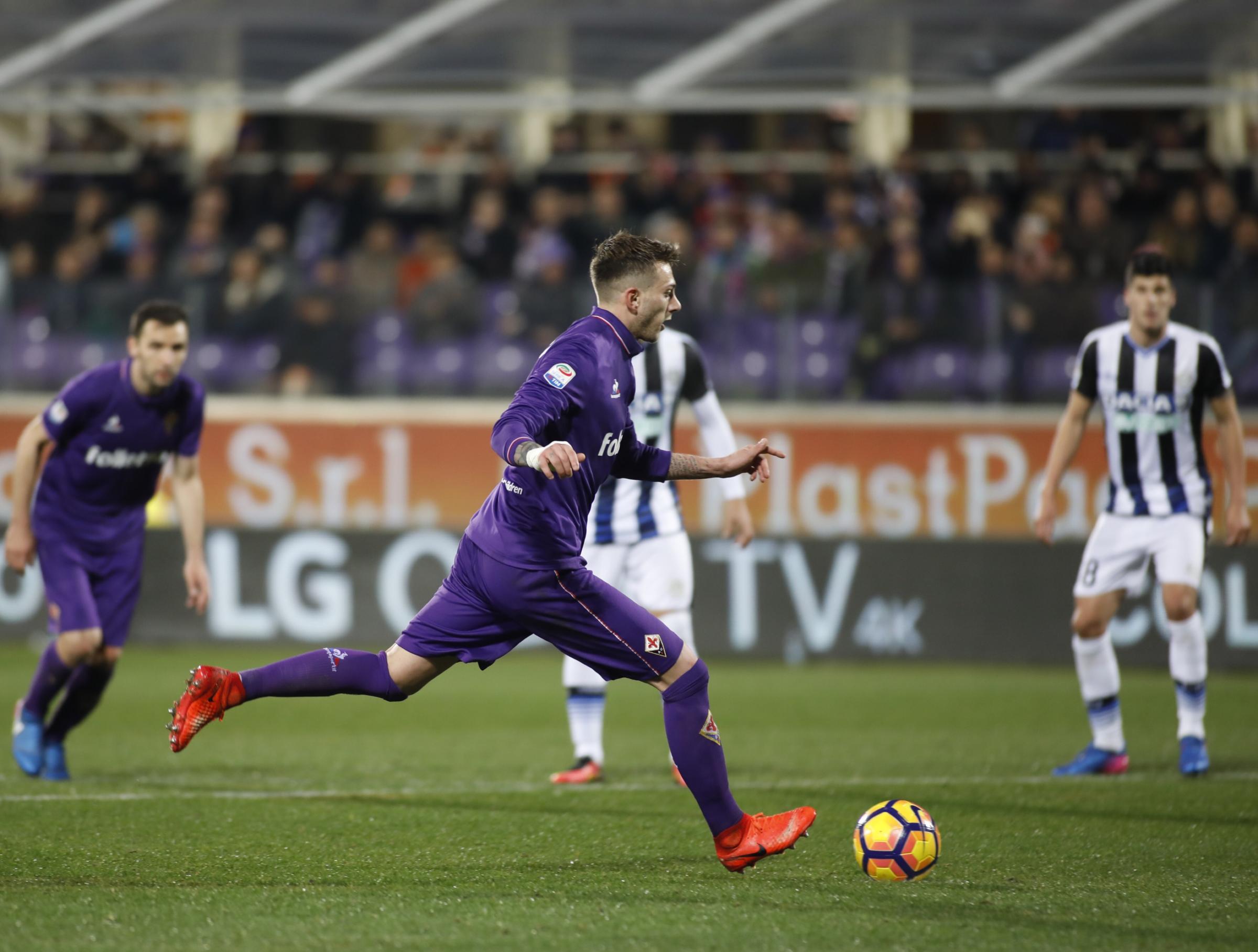 Bernardeschi: la Fiorentina tiene duro, ma la Juve è in vantaggio