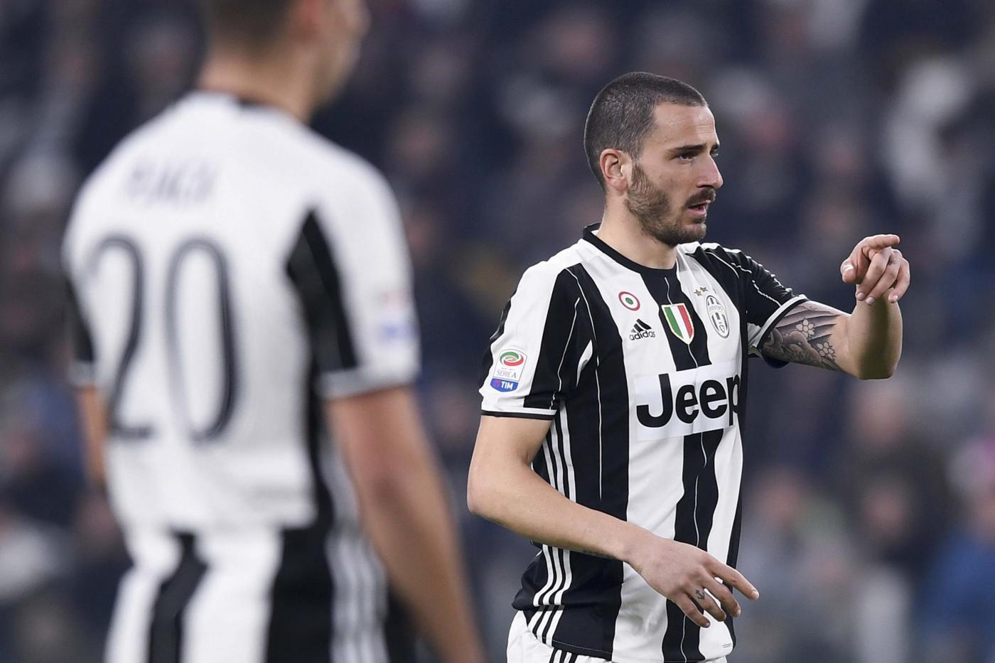 Juventus, Allegri, battibecco con Bonucci? Cose che capitano