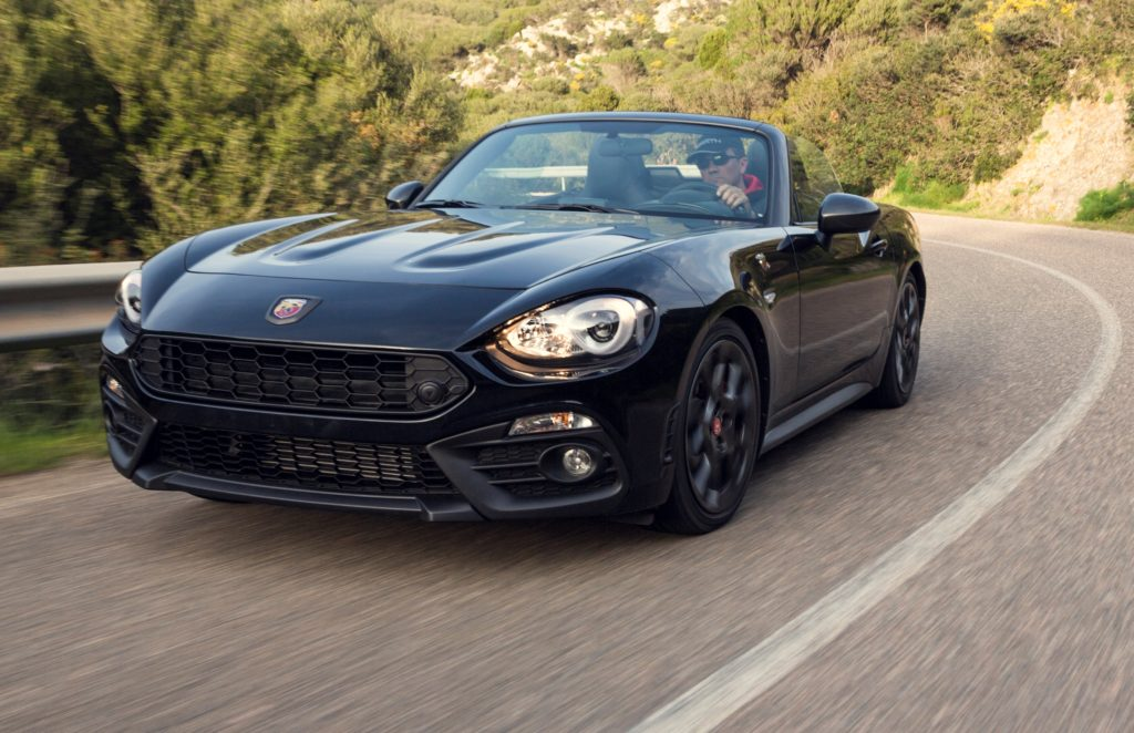 abarth 124 spider scorpione la nuova versione sar ancora. Black Bedroom Furniture Sets. Home Design Ideas