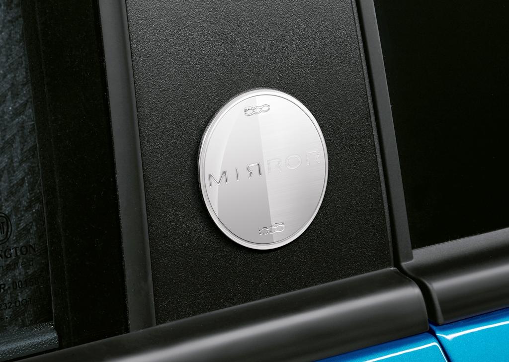 Fiat presenta la 500 Mirror