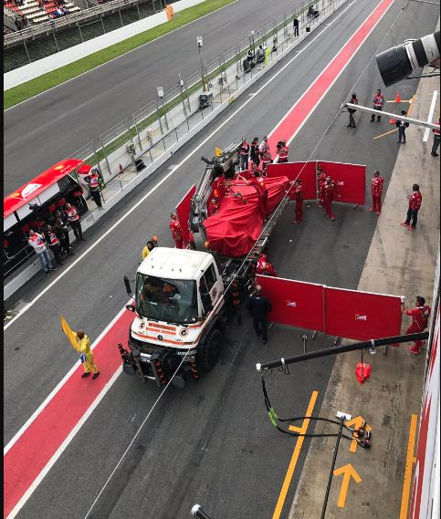 Formula 1, test Montmelò: Raikkonen da record al mattino