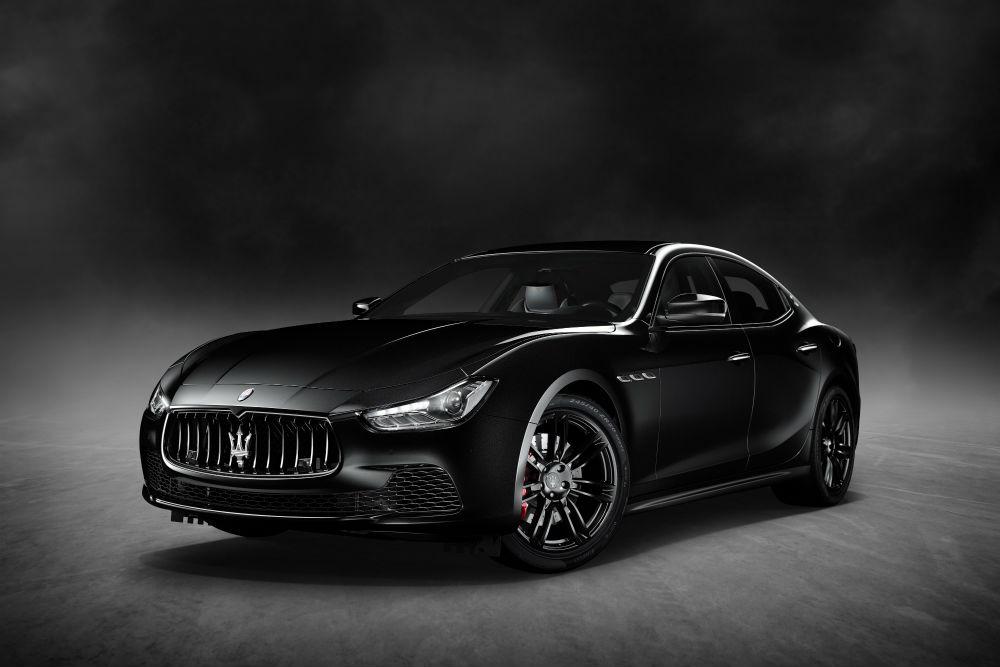 Maserati Ghibli Nerissimo, nero solo per gli USA