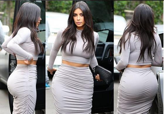 Kim Kardashian - Credits: Instagram @hotness_reloaded_