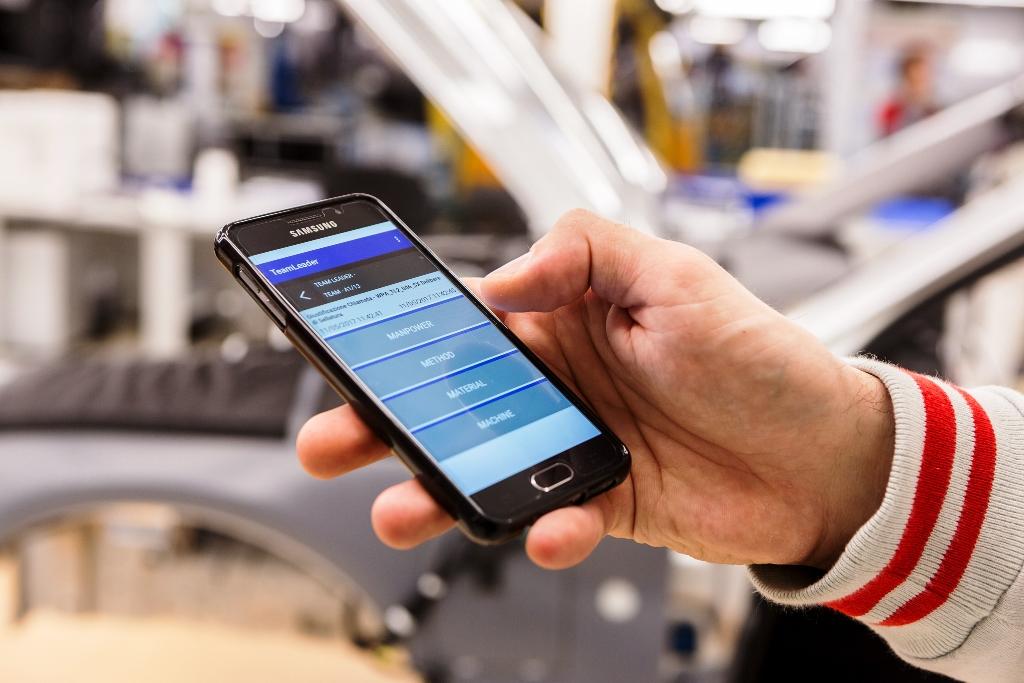 Cassino, smartwatch e tablet per produrre Giulia e Stelvio