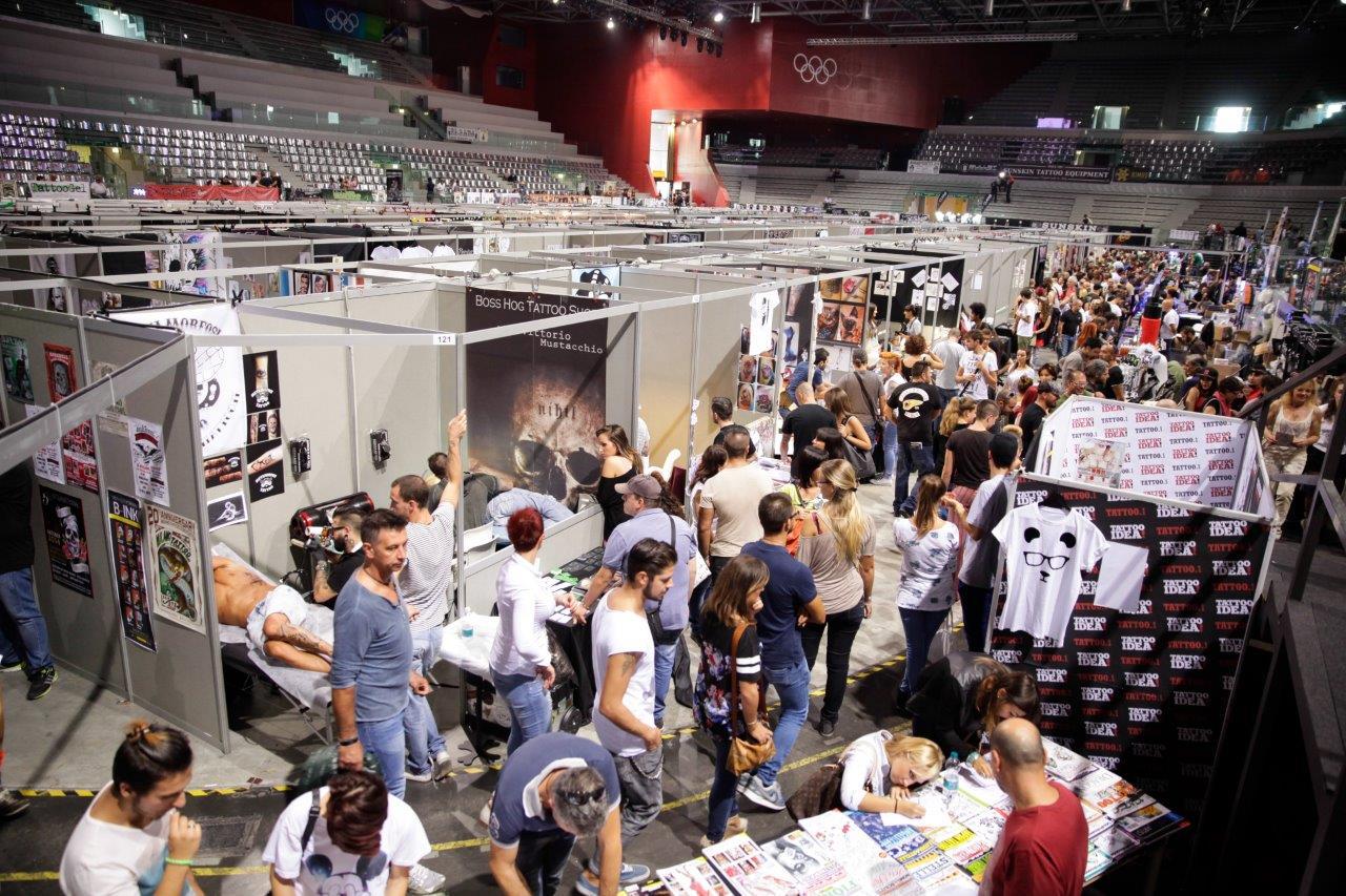 Torino tattoo convention tutto pronto per la kermesse for La tattoo convention