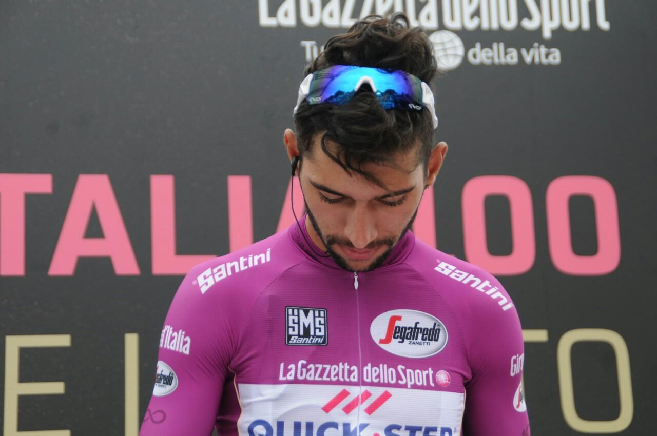 Giro: Patrick Dempsey a via 7/a tappa