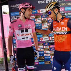 Tom Dumoulin e Vincenzo Nibali