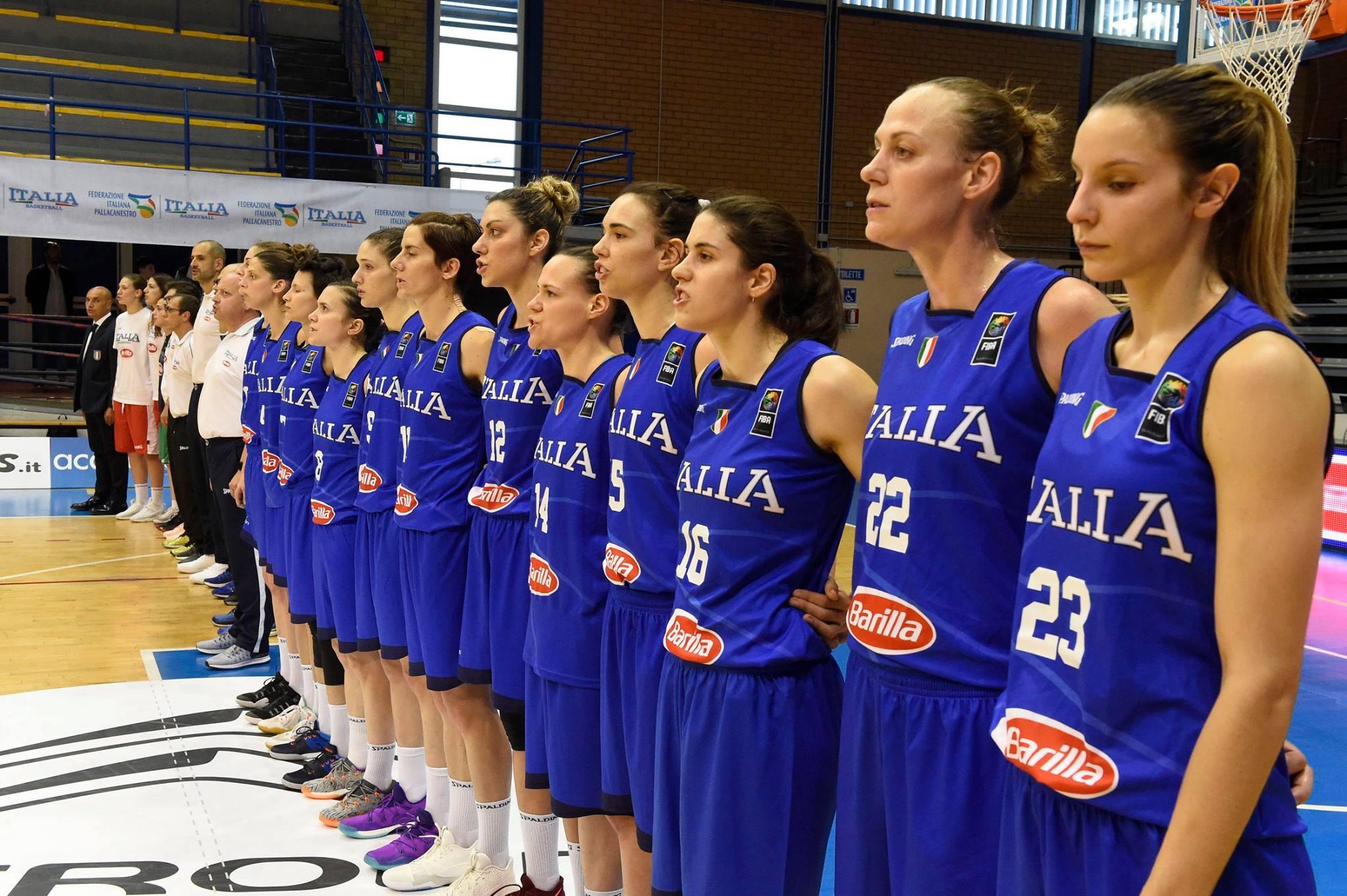 basket nazionale italiana femminile da urlo battuta l