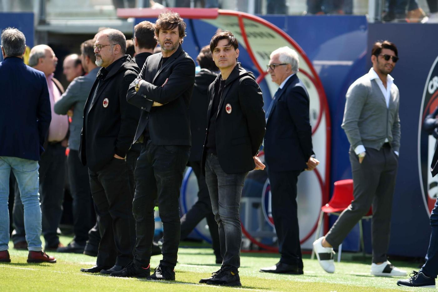 Milan, Montella snobba Dzeko:
