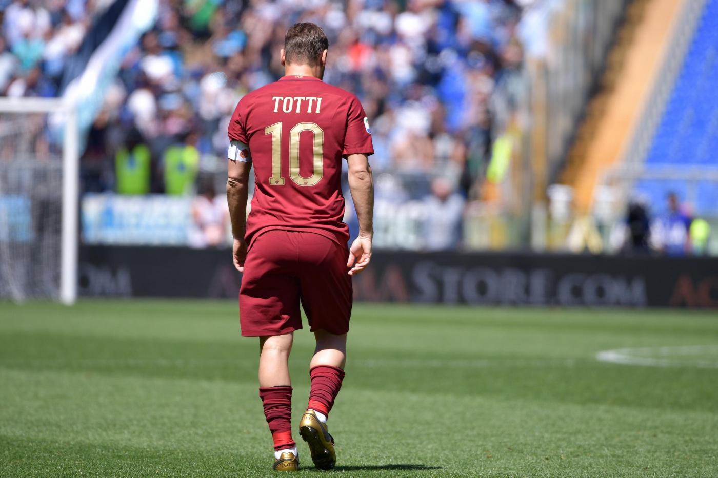 Riflessione : L'addio di Totti..