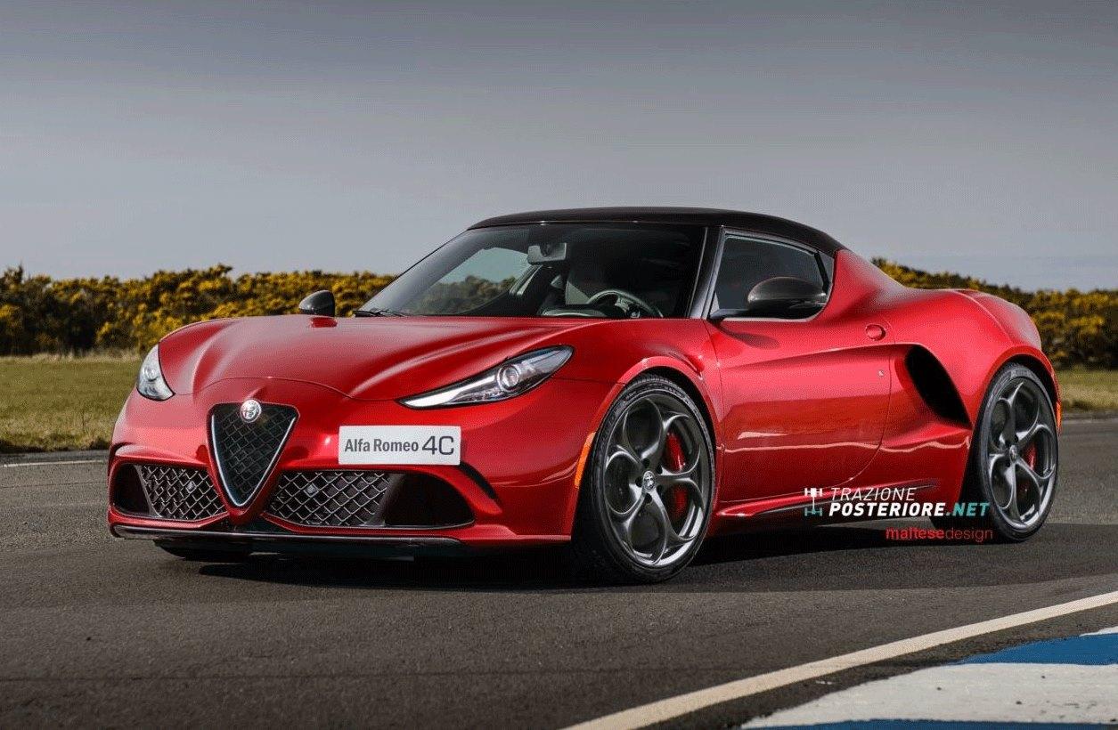 Alfa Romeo 4c >> Alfa Romeo 4C Restyling: la passione sportiva si aggiorna [RENDERING]