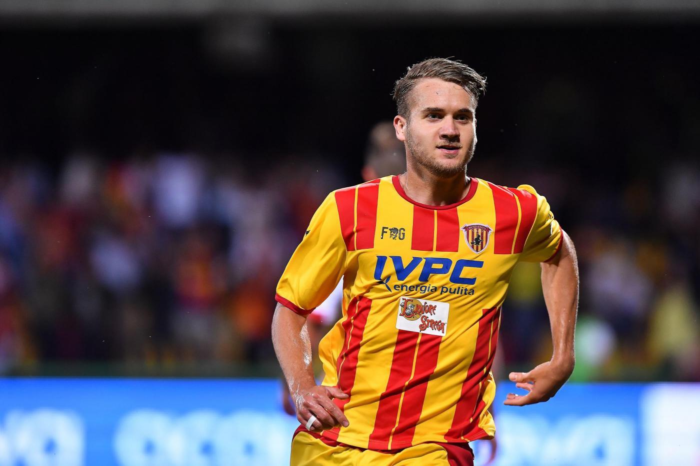 Benevento in serie A dopo la vittoria sul Carpi