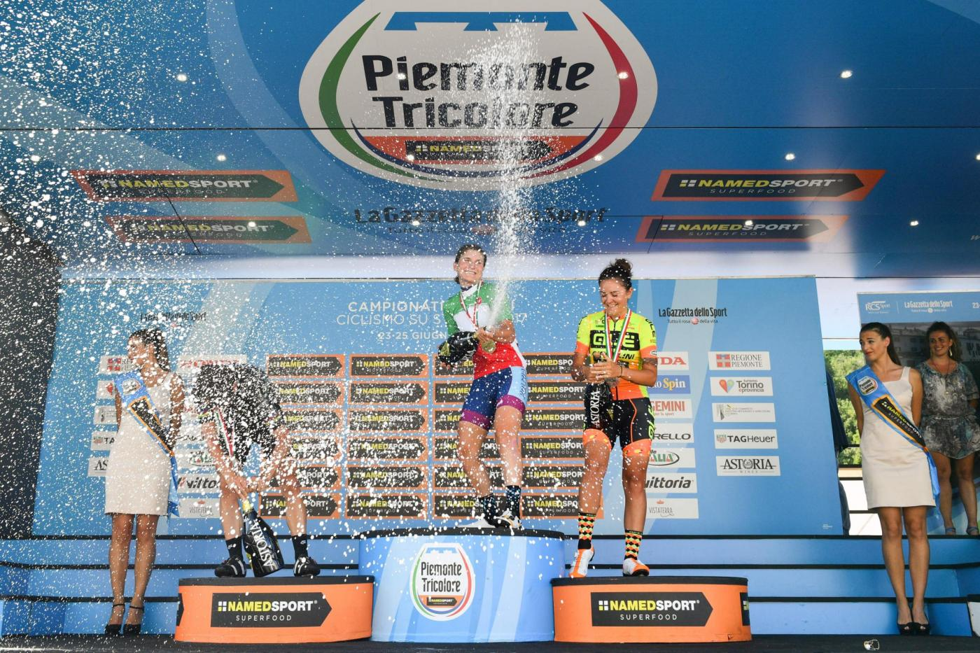 Longo Borghini è la nuova Campionessa italiana in linea