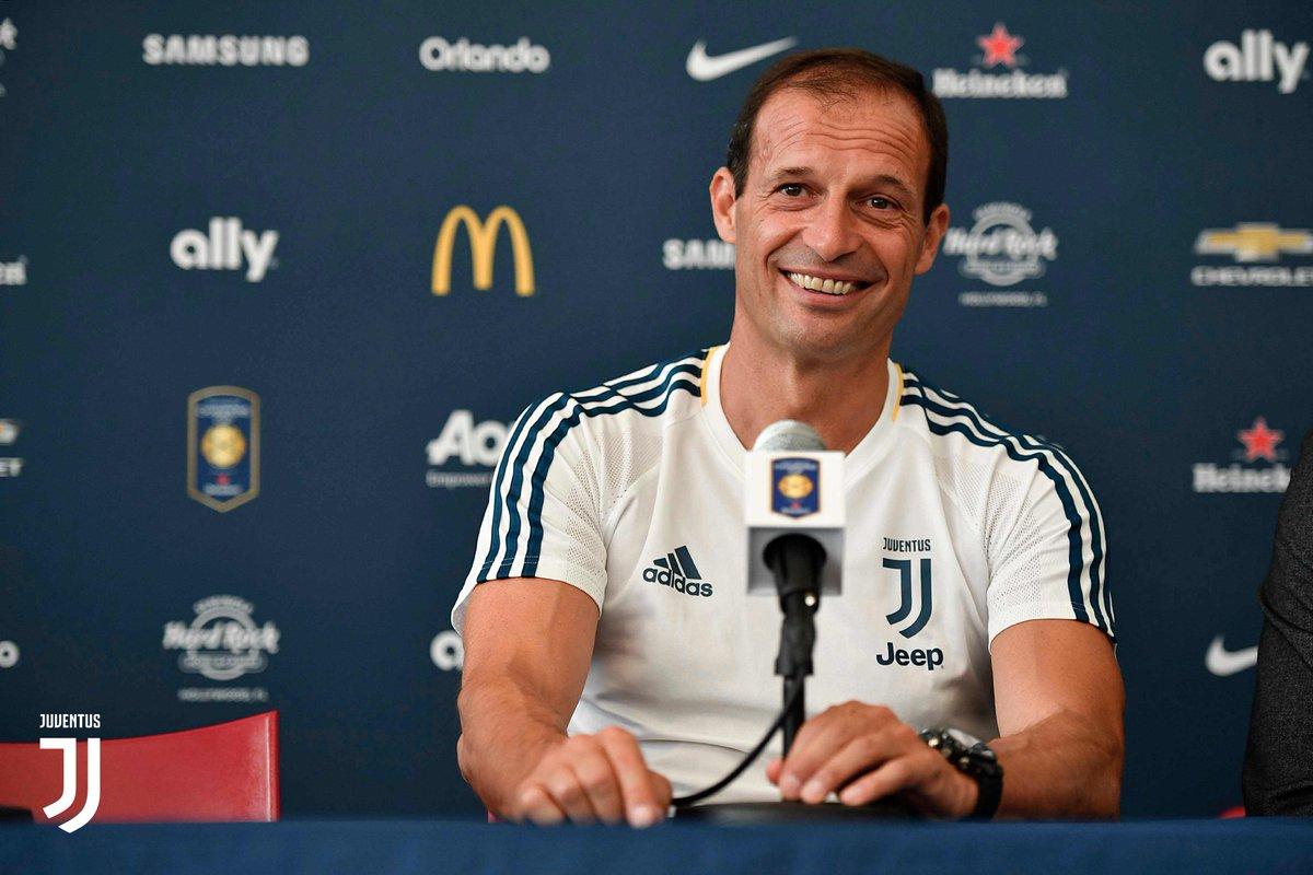 Allegri, Juventus (ph Twitter @juventusfc)