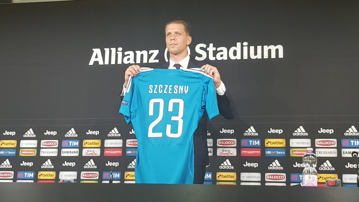 Szczesny: alla Juve per la mentalità vincente