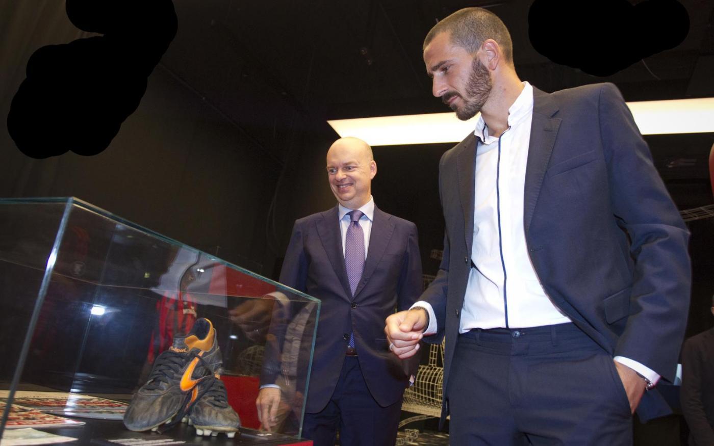 Bonucci passa al Milan, Marotta prende la parola: