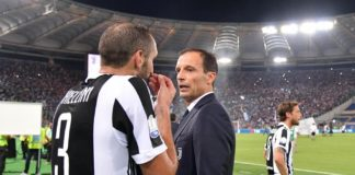 Chiellini e Allegri, Juventus